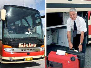 Gislev dygtige buschauffører er klar til at give dig den bedste rejseoplevelse.