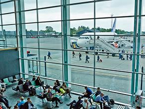 Aalborg lufthavn terminal
