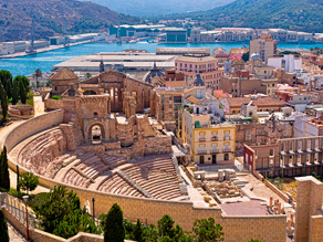 Cartagena det romerske teater