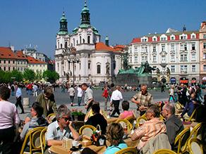 Prag café