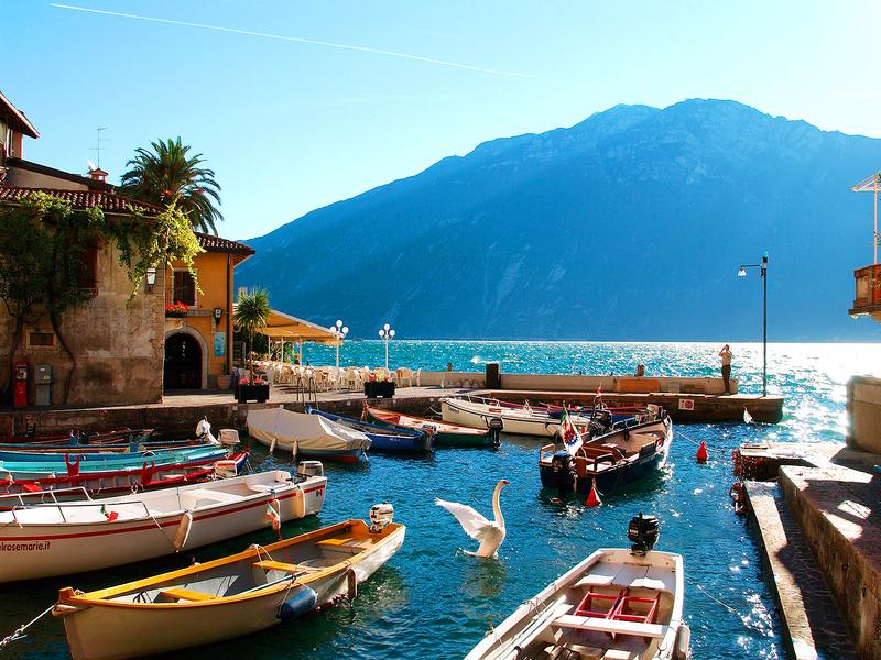 Rejser til italien gardasøen