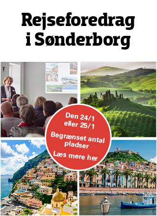 Gratis rejseinspirationsdag i Sønderborg
