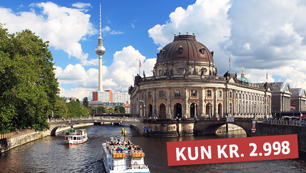 Berlin med stor byrundtur