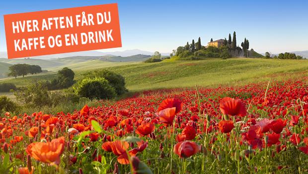 Flyv med til forår i Toscana