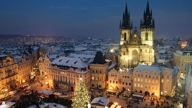 Stemningsfuld Jul i Prag