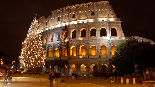 Jul i Rom og Sorrento