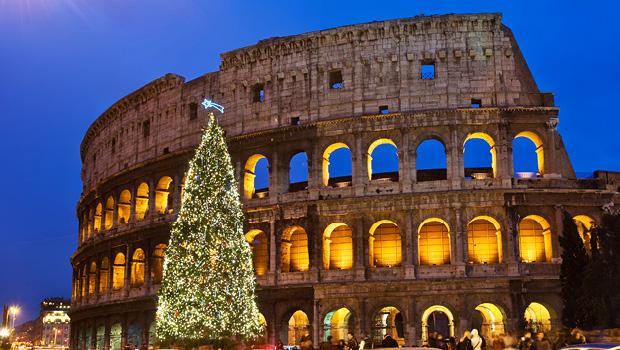 Jul eller nytår i Sorrento og Rom