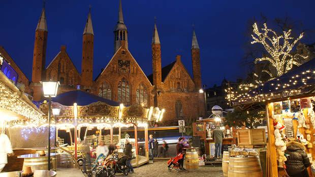 Julebal i Nordtyskland