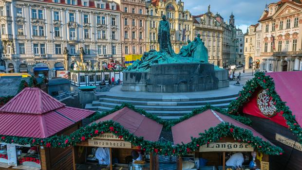 Julemarked i Prag