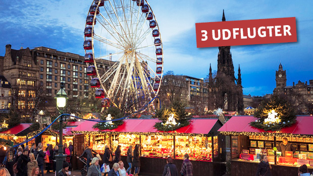 Julemarked i Edinburgh
