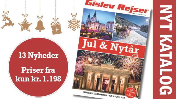 40 flotte rejser til Jul og Nytår