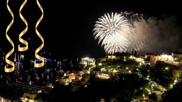 Nytår i Sorrento og Rom