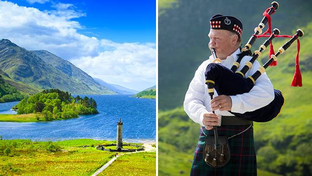 Skotland i blomst