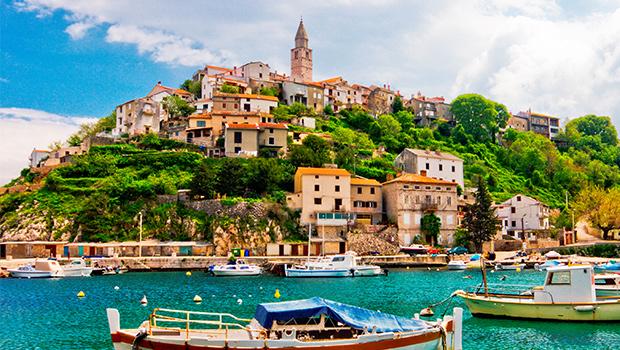 Opatija, Istrien halvøen - Bus ud og fly hjem