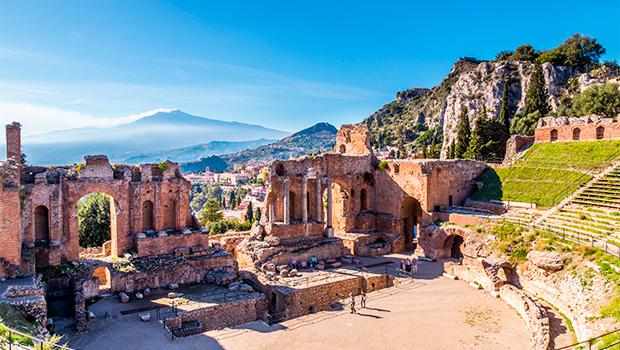 Sicilien og Sorrento-halvøen