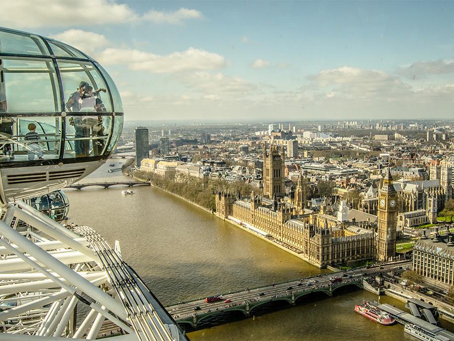 Rejse til London - Fly fra Billund eller København - Gislev Rejser