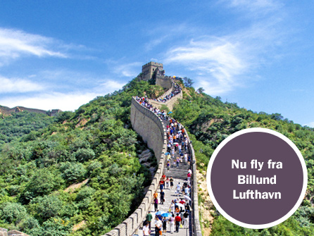Rejser til Kina - Book din rejse til orienten hos Gislev Rejser