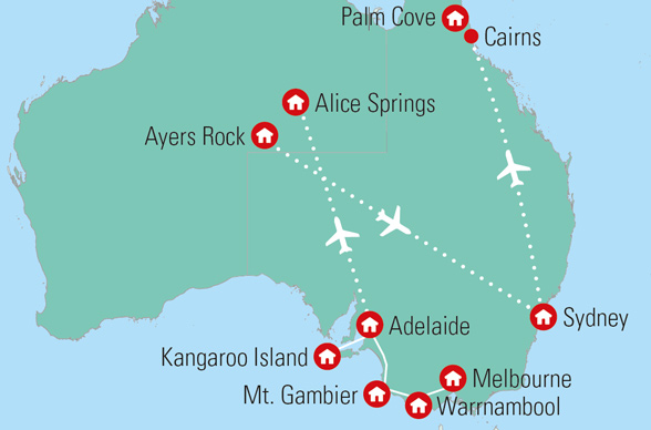 7c29d9ad Rejser til Australien med dansk rejseleder - Gislev Rejser