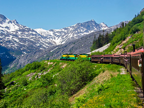 Tag med White Pass and Yukon Railways