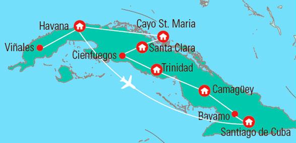 Rejser Til Cuba 16 Dages Rundrejse All Inclusive Og Med Dansk