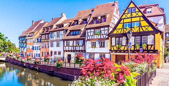Rejse Til Alsace Ferie Med Vinmarker Og Idyl I Skonne Alsace