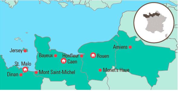 Busrejse Til Normandiet Bretagne Jersey Gislev Rejser Vidende