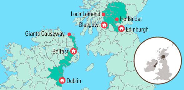 Rundrejse Til Irland Og Skotland 8 Dages Eventyr Med Fly