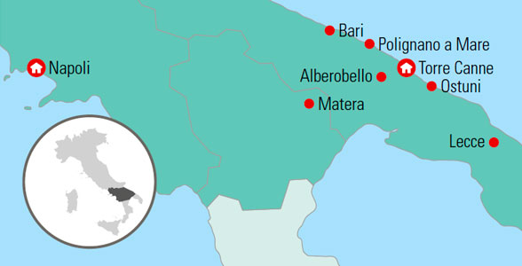 Syditaliens Frodige Hjorne Gislev Rejser