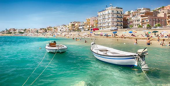 fly til sicilien fra billund