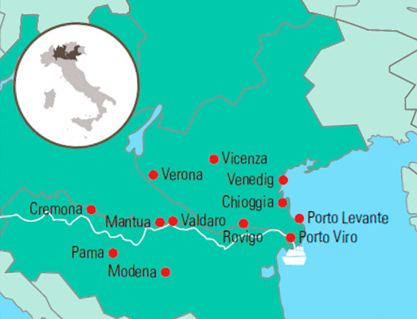Krydstogt I Venedigs Lagune Og Posletten