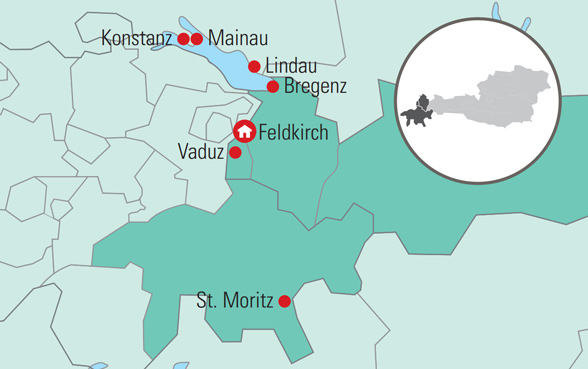 Rejse Til Ostrig Og Schweiz Og Liechtenstein