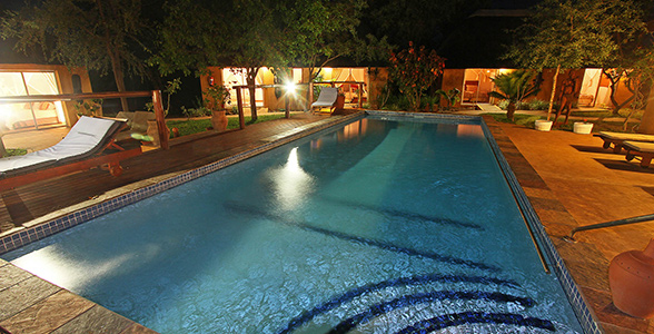 Nordmann Safari Lodge pool