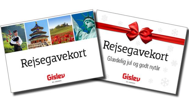 Giv et rejsegavekort til en du holder af