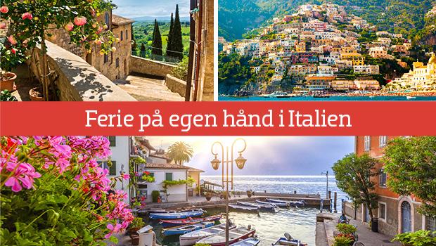 Ferie i Italien med fly og hotel