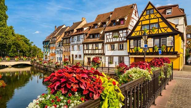Alsace og Rhinen