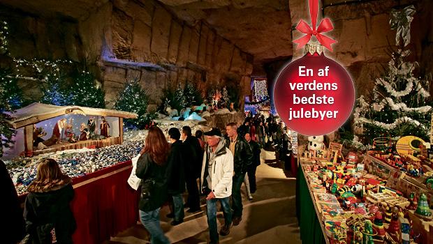 Julemarked i Sydhollands klippehuler