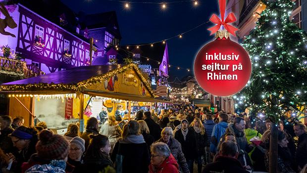 Julemarked ved Rhinen