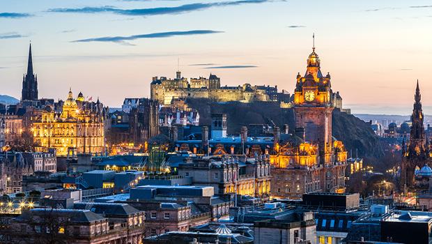 Julestemning i Edinburgh