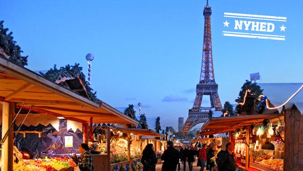 Julestemning i Paris
