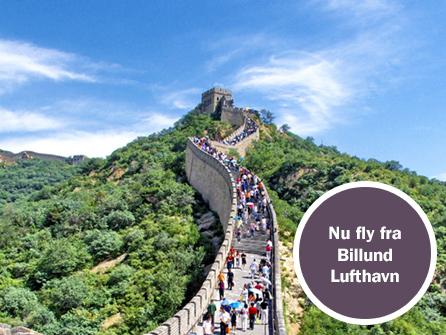 rejsetid til kina
