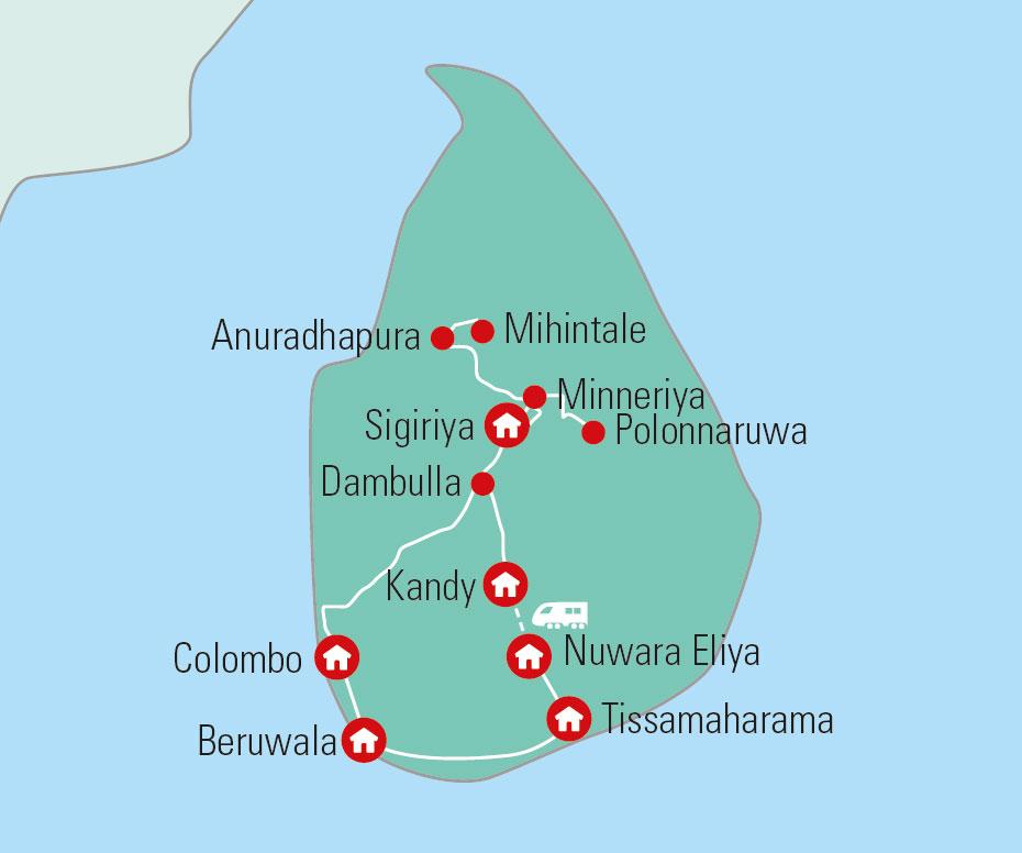 Sri Lanka Rundrejse 14 Dages Rejse Til Perlen I Det Indiske Ocean