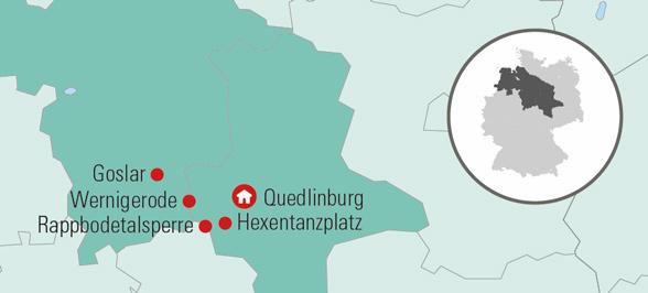Flot Rejse Til Harzen Med Bus Halvpension Udflugter Og Rejseleder