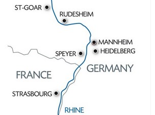Nytarskrydstogt Pa Rhinen