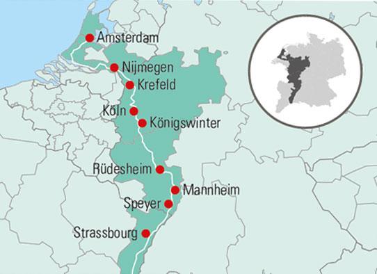Krydstogt Pa Rhinen Gislev Busrejser